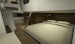 Hinckley Sport Boat 40x_Aft Cabin