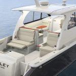 Hinckley Sport Boat 40x_Aft Quarter
