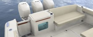 Hinckley Sport Boat 40x_Amenity with Live Well 2