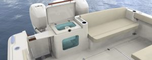 Hinckley Sport Boat 40x_Amenity with Live Well