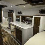 Hinckley Sport Boat 40x_Galley