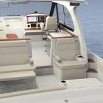 Hinckley Sport Boat 40x_Looking Forward